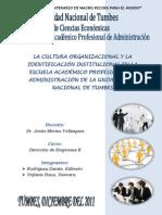 Trabajo de La Cultura Organizacional de La Escuela de Admin is Trac Ion