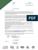 Creditex - Proveedores