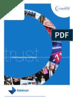 Edelman Trust Barometer - 2009