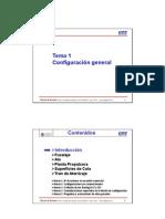 Tema 01 - Configuración
