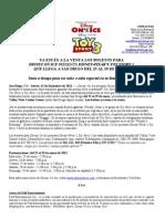 San Diego... ¡Ya están a la venta los boletos para Disney On Ice Toy Story 3!