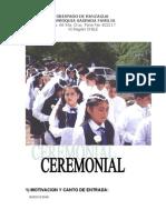 Ceremonial i Comuniones 2011