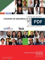 Visiones de desarrollo sustentable hacia un Chile 2050