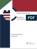 The Civic Achievement Gap