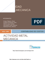 ACTIVIDAD METALMECANICA