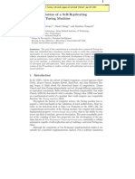 Hector Fabio Restrepo, Daniel Mange and Gianluca Tempesti- Implementation of a Self-Replicating Universal Turing Machine