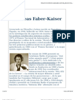 Andreas Faber Kaiser - Biografía