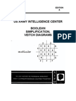 IT0345 Boolean Simplification Veitch Diagrams