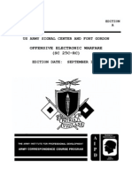 SS0134 Offensive Electronic Warfare