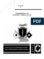 SS0345 Fundamentals of Microwave Communication