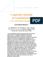 L'approche culturelle de la globalisation