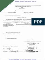 Freddie Joe Hankins criminal complaint