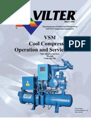 VILTER - Cool Compression Operation Manual   Indemnity   Damages