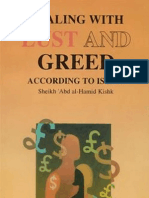 Dealing With Lust Greed According to Islam