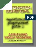 MATEMATICA COMERCIAL Repartimiento Proporcional parte 1