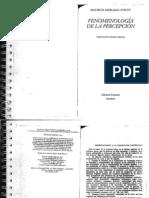 Fenomenología de la percepción (Prólogo)
