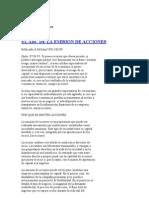 Emision de Acciones de Las EMp - Explicaciones