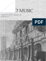 Sacred Music, 110.2, Summer 1983; The Journal of the Church Music Association of America