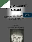 Dramatic Lighting for Self Portrait