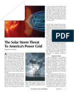Power Grid Threat