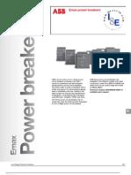 ABB; Emax, Power Breakers