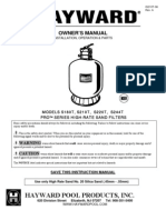 Hayward s244t Sand Filter Manual145