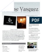 Nov. 2011 Newsletter