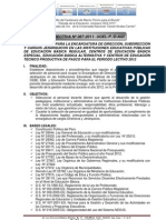 Directiva de Encargatura de Direccion