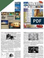"Kuta Weekly-Edition 263 ""Bali""s Premier Weekly Newspaper"""