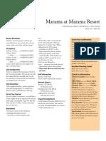 Marama Brochure