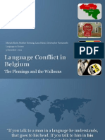Language Conflict in Belgium