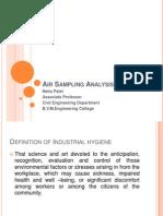 Air Sampling Analysis