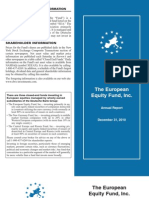 European Equity Fund (EEA)