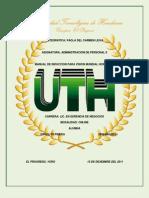 Manual de Inducción Visión Mundial Honduras