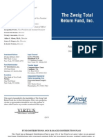 Zweig Total Return Fund (ZTR)