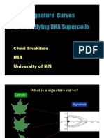 Cheri Shakiban- Signature Curves In Classifying DNA Supercoils