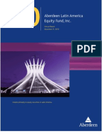 Aberdeen Latin America Equity Fund, Inc. (LAQ)