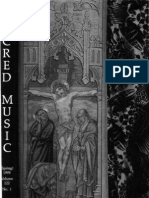 Sacred Music, 122.1, Spring 1995; The Journal of the Church Music Association of America