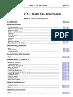 Motor 1 6l Zetec Rocam