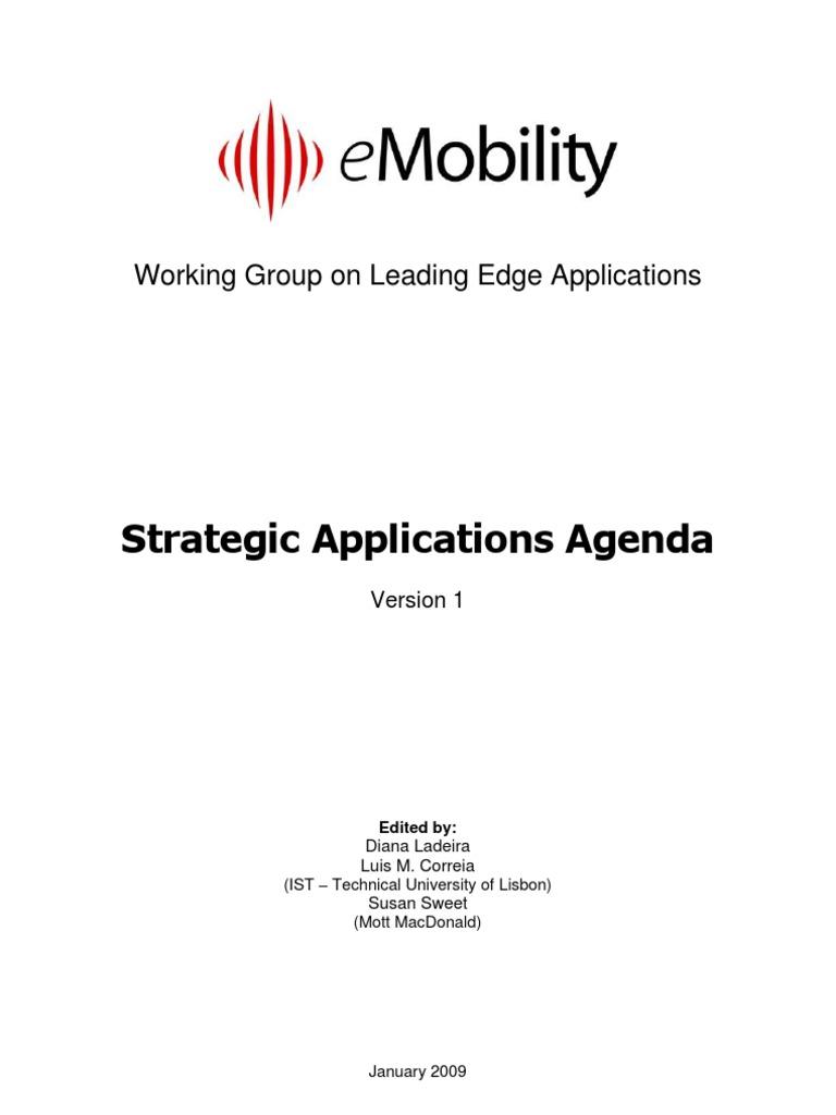 Strategic Applications Agenda v1-0   Monitoring (Medicine ...