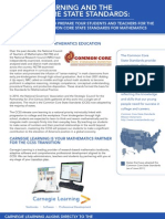 Carnegie Learning and the Common Core State Standards