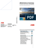 2009 ABB Distribution and Transmission Protection and Control Training Brochure