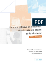 Rapport Commission Tri réduction déchets MPM