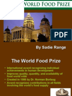 2007 World Food Prize Overview PowerPoint