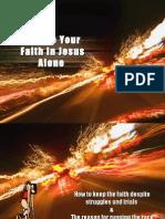 Endure Your Faith
