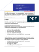 Project Parivartan Implementation Structure, Nov 2011