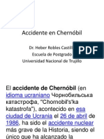 Accidente en Chernóbil