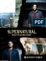 Game supernatural role pdf playing