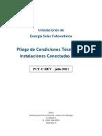 5654 FV Pliego Condiciones Tecnicas Instalaciones Conectadas a Red C20 Julio 2011[1]