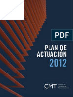 Plan de Actuaciones 2012 CMT (definitivo)